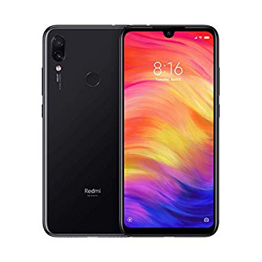 Xiaomi Redmi Note 7 6,3 Zoll Smartphone Dual SIM Global Version Android 9.0 (Pie) (4/128, Space Black)