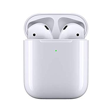 Apple AirPods mit kabellosem Ladecase (Neuestes Modell)