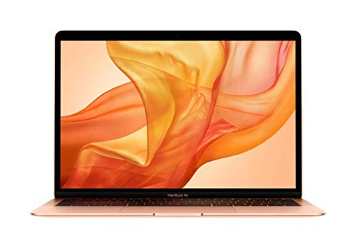"Apple MacBook Air (13"", Neuestes Modell, 8GB RAM, 256GB Speicherplatz, 1,6GHz Intel Core i5) - Gold"
