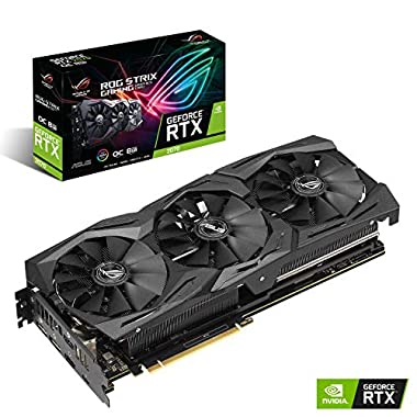 ASUS ROG STRIX NVIDIA GeForce RTX 2070 OC 8G Gaming Grafikkarte (Overclocked, Single)