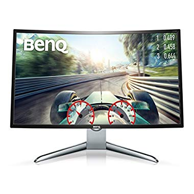 BenQ EX3200R 80,01 cm (31,5 Zoll) Full HD Curved Gaming Monitor (HDMI, 1800R, Low Blue Light, Flicker-free, Display Port, 144Hz) (32 Inch (FHD), Curved/144Hz/HDMI/DP, Single)