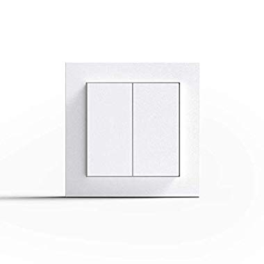 Friends of Hue Smart Switch: Kabelloser Philips Hue Schalter und Dimmer, Weiß