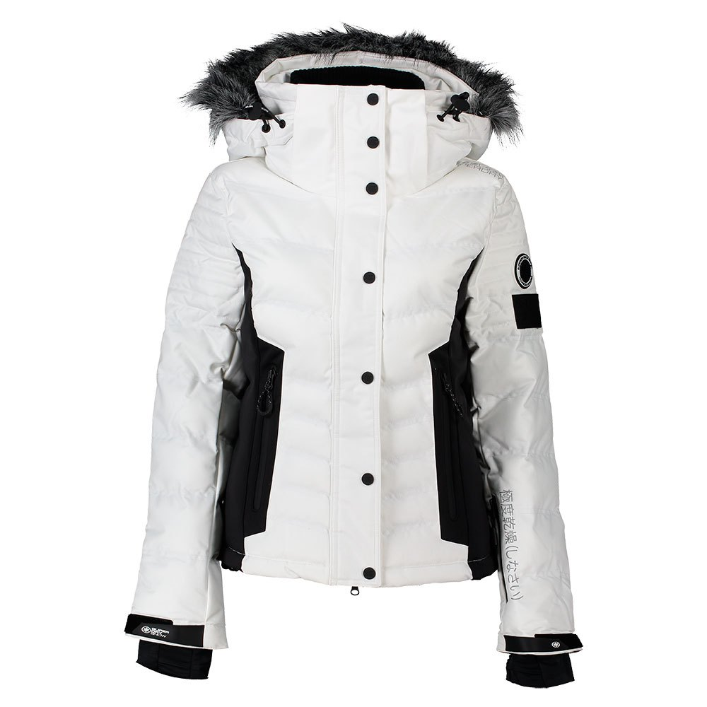 Superdry Luxe Snow Puffer Jacken (Optic, M)