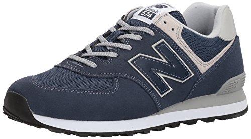 New Balance Herren 574v2 Core Sneaker, Blau (Navy), 37.5 EU