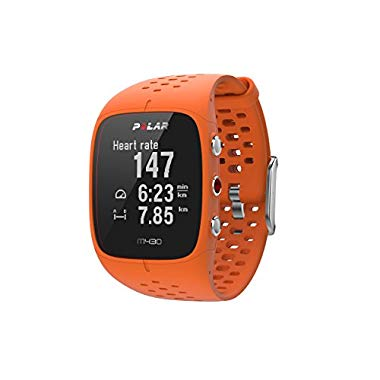 Polar M430 Laufuhr, orange, M/L (M-L)