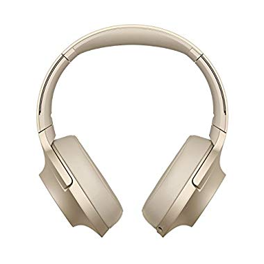 Sony WH-H900N High-Resolution Kopfhörer, Kabelloser, Noise Cancelling, gold
