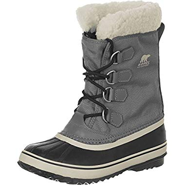 Sorel Winter Carnival W Winterstiefel Pewter/blk (37 EU, Grey)