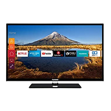 Telefunken HF32J8000 80 cm (Fernseher (Full HD, Triple Tuner, Smart TV, Prime Video, Works with Alexa))