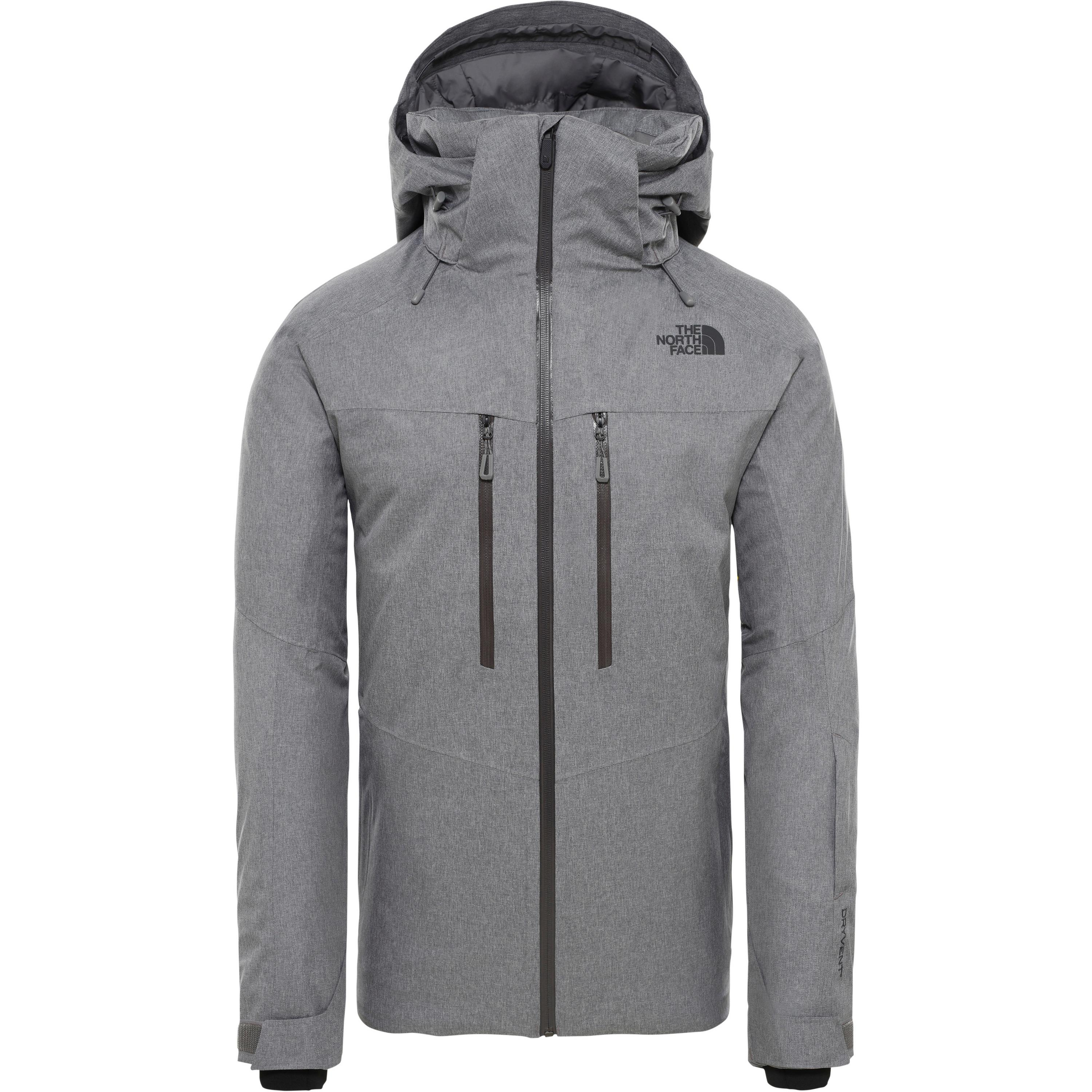 The North Face Chakal Skijacke Herren (grau, M)