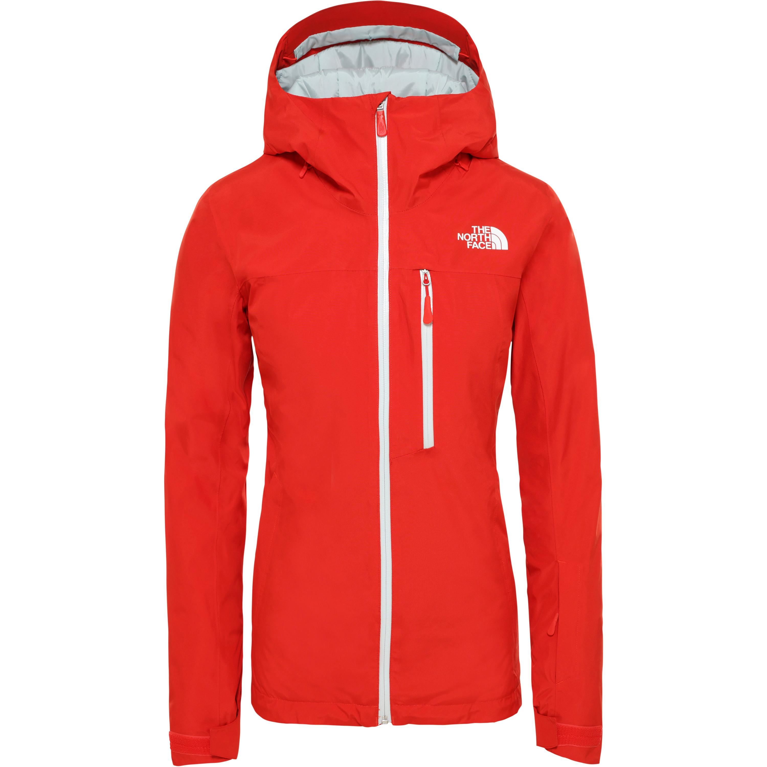 The North Face Descendit Skijacke Damen (rot)