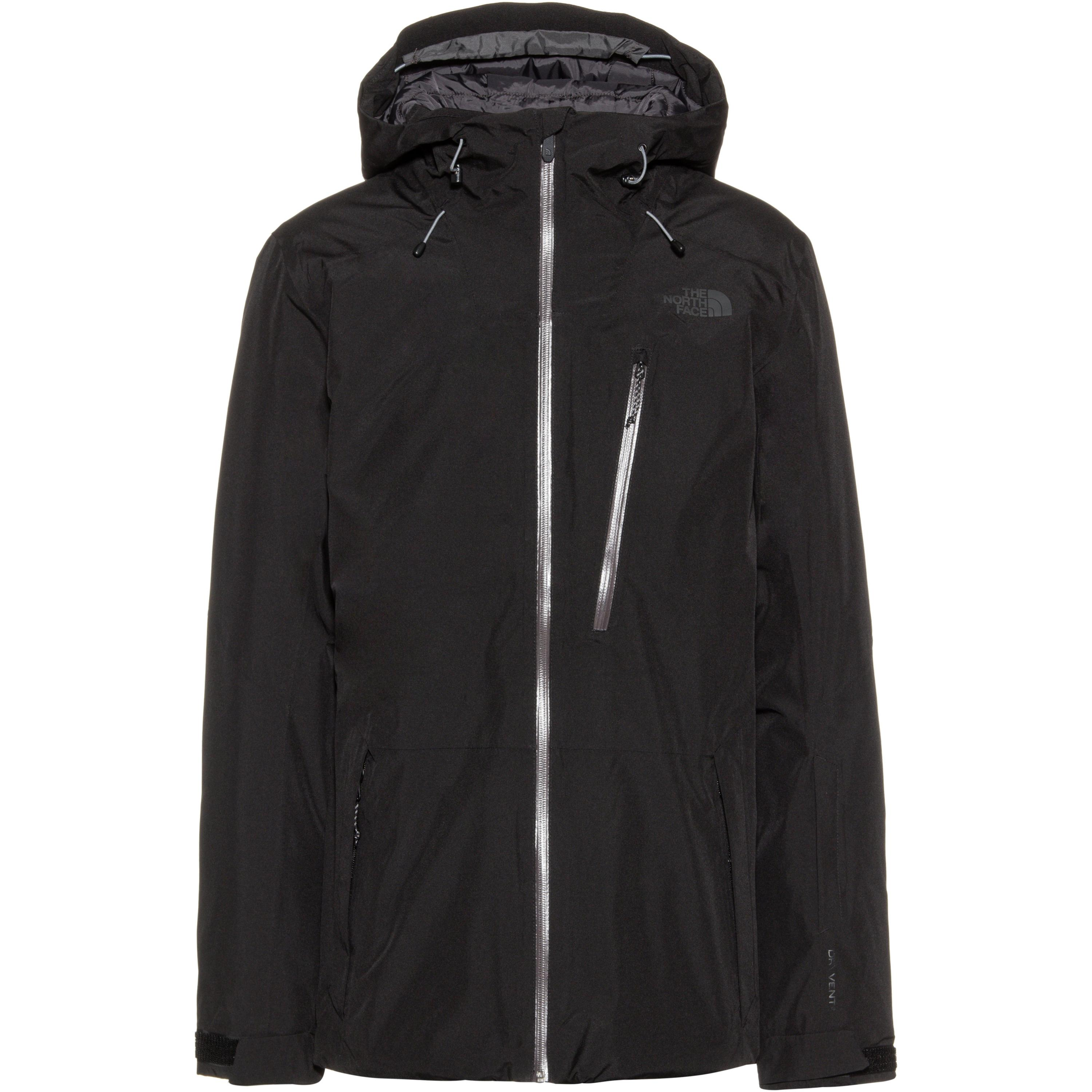 The North Face Descendit Skijacke Herren (schwarz, XL)
