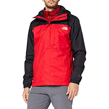 THE NORTH FACE Herren M Quest Triclimate J, TNF Red/TNF Bla, L
