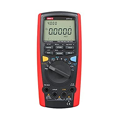 Uni-T ut71 Serie Intelligente Digital Multimeter, rot/grau, 1 (rot / grau)