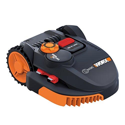 Worx wr094s Mähroboter Landroid, 36 W, 20 V, Schwarz Orange, 350 qm