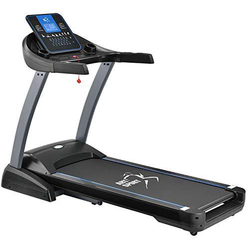 ArtSport Speedrunner 7000 Laufband klappbar mit Kinomap-Funktion, 3 PS Motor, 22 km/h, 48 Programme - Heimtrainer elektrisch LCD Display & Steigung