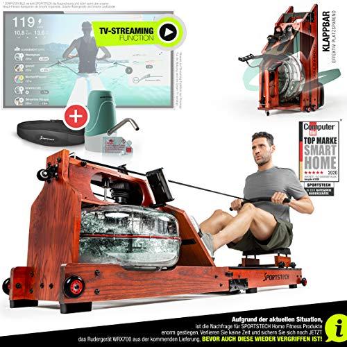 Sportstech WRX700 Wasser-Rudergerät