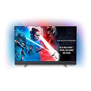 Philips Ambilight 55PUS8804/12 Fernseher 139 cm (Smart TV (4K UHD, P5 Perfect Picture Engine, HDR 10+, Android TV, Google Assistant)) (55 Zoll)
