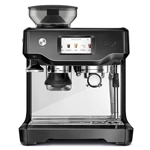 Sage SES880 the Barista Touch, Espressomaschine, Black Stainless