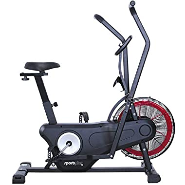 SportPlus Air Bike Indoor Heimtrainer Fahrrad Ergometer